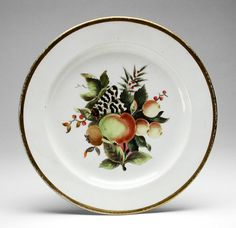 Plate, ca. 1810-20 | LACMA Collections