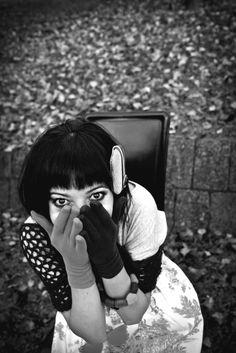 The LOOK that kills  ph Henry Ruggeri #blackandwhite #fashion #fashionphotography #style #woman