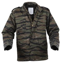 Tiger Stripe Camo M-65 Camo Field Jacket