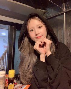 """fromis_9 [프로미스나인] on Instagram: """"⠀ 고기는 참 사람 기분 좋게 한다니까 🥩 ⠀ #하영"""" Kpop Girl Groups, Korean Girl Groups, Kpop Girls, Pop Group, South Korean Girls, Singer, Instagram, Baby, Singers"""