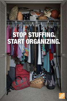 Small spaces usually come with even smaller storage spaces. The Home Depot offers a variety of apartment-friendly storage solutions to help make your closets more functional. Click-through to get DIY ideas and how-to guides.