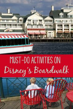 Looking for free, unique things to do at Disney World? Here's a TravelingMom family guide to Disney's Boardwalk, plus tips for a magical date night!