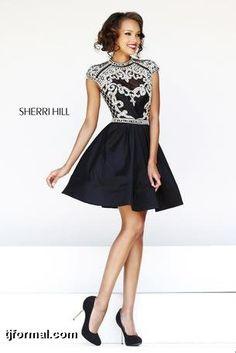 Sherri Hill black & white