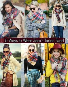 How To Wear A Blanket Scarf – Brina Box