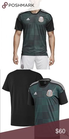 15258dd29 MEXICO TRAINING JERSEY PLAYERA WORL CUP 2018 MEXICO TRAINING JERSEY PLAYERA  WORL CUP 2018 Sizes Small Medium Large XL Adidas Other