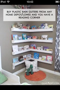 Kids reading area