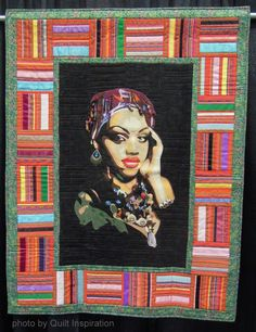 Ruby by Kay Donges, Georgia, U.S.A.  2014 PIQF, photo by Quilt Inspiration