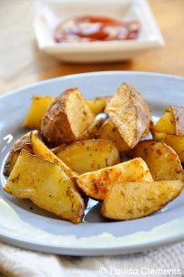 These Zesty Oven Fries are a simple gluten free side dish that only uses a small handful of pantry staple spices to create a wonderful burst of flavor in each bite.