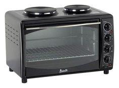 Avanti - 2-Slice Convection Countertop Oven - Black, MKB42B