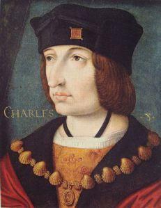 Margaret of Austria's first husband, King Charles VIII of France