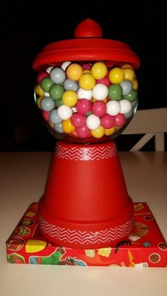 Kauwgomballen/snoep machine surprise