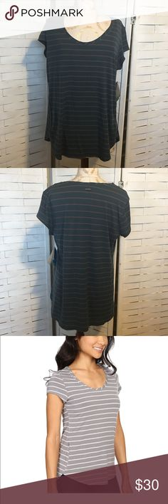 NWT Columbia top N.027 New with tags Columbia all who wander style shirt! This top has Omni-wick advanced evaporation to help you keep dry and comfortable, and it has a zip closure pocket. Super soft material. 95% modal 6% elastane Columbia Tops Tees - Short Sleeve