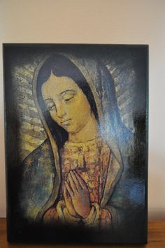 Our Lady of Guadalupe Icon Unique Religious Art