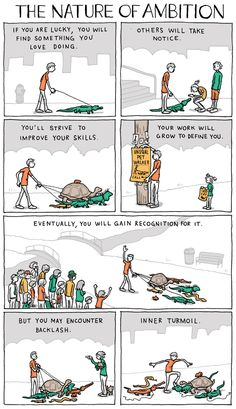 Comic: What Happens If You Do Something You Love - DesignTAXI.com
