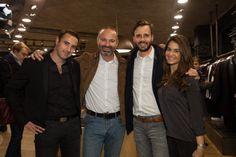 Axel Pivot, Patrick Petzl, Martin Gapic et Valeria Scelsi | GQ France