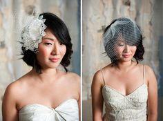 Winner: Tessa Kim Headpiece Giveaway - Project Wedding