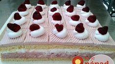 Božský dezert z malín: Krémové jogurtovo-malinové kocky sú najlepším letným zákuskom! Hungarian Desserts, Pan Frito, Cheesecake, Food And Drink, Cooking, Recipes, One Pot Dinners, Yogurt, Pastries