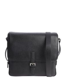 dcb39335e64d Prada black saffiano leather messenger bag. TucciPolo · Designer Mens  Messenger Bags ...