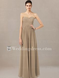 chiffon bridesmaid dresses long_Cafe