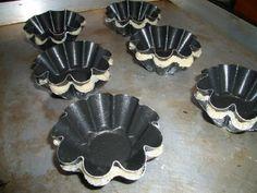 Кокосовое тесто для тартинок