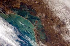 Venezia from space