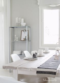 """Pisa Design. Really cool industrial looking shelfs from Ikea, called """"Hyllis""""."""