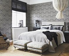 Boråstapeter ornament - sovrum