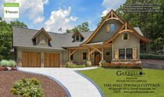 The Hall Springs Cottage House Plan 12074 Designed by Garrell Associates, Inc. We offer floor plan modifications on all of our Craftsman style house plan designs. Have a question about any of our house plans, call us at Cottage Style Homes, Cottage House Plans, Courtyard Entry, Basement Floor Plans, Mountain House Plans, Safe Room, Build Your Own House, Craftsman Style House Plans, Level Homes