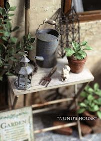 Blah Since I Know: Introducing, Nunu's House! Miniature Crafts, Scary Stories, Watering Can, Home And Garden, Mini Pastries, House, Gardens, Home Decor, Shelves