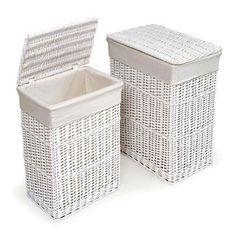 Laundry Bags At Walmart Enchanting 3Compartment Wicker Laundry Hamper  Pinterest  Laundry Hamper