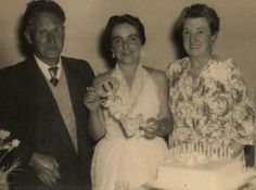 With Dad (Albert William Renison) and Mum (Janet Ivy Gray).