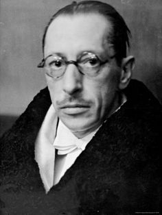 Igor Stravinsky. Great composer of the 20th century