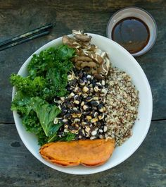 How To Create The Perfect Plantpower Bowl - thanks @yahoohealth for sharing our recipe from #ThePlantpowerWay  https://www.yahoo.com/health/create-the-perfect-plantpower-bowl-117535833432.html