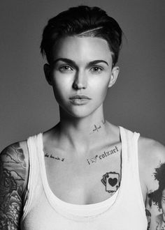 Ruby Rose poster on sale at theposterdepot. Always Fast secure shipping from USA seller. Ruby Rose Poster for sale. Check out our site for latest sales. Orange Is The New Black, Black Ruby, Dreads, Rubin Rose, Pretty People, Beautiful People, Beautiful Women, Celebrity Short Hair, Celebrity Hairstyles