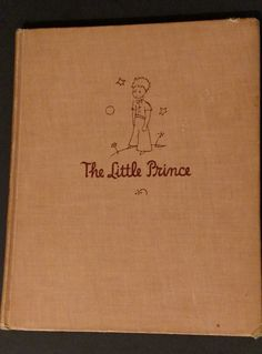 The Little Prince- 1943-True First Edition by Antoine De Saint-Exupery