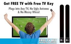 Watch broadcast TV FREE with Clear TV Key HD Digital Antenna | Clear TV™ Key