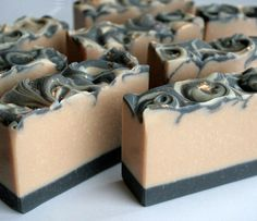 Handmade luxury for your skin. We pour and cut our soap in small batches, letting them age for a better lather and longer lasting bar. Homemade Soap Recipes, Homemade Bar, Coffee Soap, Christmas Soap, Savon Soap, Soap Packaging, Goat Milk Soap, Cold Process Soap, Home Made Soap