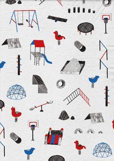 Amelie Fontaine's Illustrations with Soft Shades and Detailing Illustration Design Graphique, Pattern Illustration, Graphic Illustration, Motifs Textiles, Textile Patterns, Print Patterns, Web Design, Design Art, Arte Popular