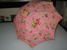 Mid Century Umbrella/Children's Umbrella / Doll  /  c.1950s  by Gatormom13
