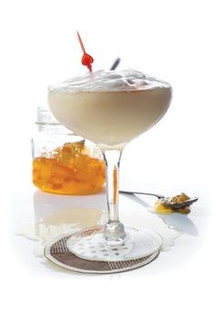 Whiskey Sour with Marmalade - Bartender Jeffrey Morgenthaler of Portland, Oregon's Clyde Common tavern gave us the recipe for this extravagant twist on a whiskey sour.
