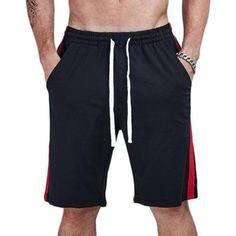 159431e1146f4 Casual Jogger Loose Double Striped Shorts