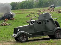 Irish Ford Armoured Car being used by reinactors Army Vehicles, Armored Vehicles, Defence Force, Imperial Russia, War Machine, Military History, Military Aircraft, Warfare, Wwii