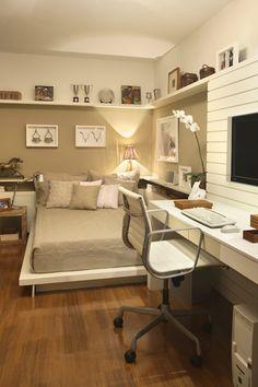 Cama no chão: 30 quartos incríveis para você se apaixonar (FOTOS)