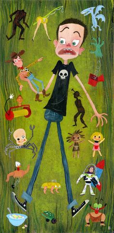 Sid and the Toy Story Gang by Brigette Barrager