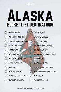 The Complete Alaska Road Trip Packing List Travel tips 2019 Alaska Bucket List. Save this pin for travel inspiration later, and click the link for more Alaska travel tips! Road Trip Packing List, Travel List, Travel Packing, Travel Hacks, Usa Travel, Travel Jobs, Packing Checklist, Travel Icon, Shopping Travel