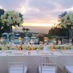 Ocean View, Sunset, Flowers. Picture Perfect Wedding