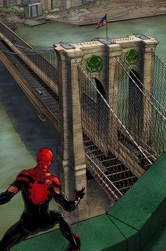 Superior Spider-Man by Guisseppe Cammuncoli