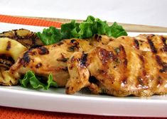 Teriyaki chicken can be grilled or baked. This teriyaki marinade is perfect on chicken thighs or chicken breasts for an easy meal! Duck Recipes, Asian Recipes, Great Recipes, Favorite Recipes, Healthy Recipes, Goose Recipes, Japanese Recipes, Interesting Recipes, Simple Recipes