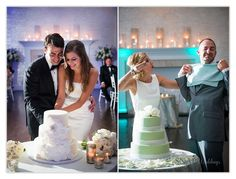 Wedding Reception Lighting, Cake Cutting, Belle Mer, Newport RI, © Snap Weddings