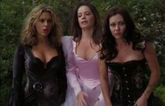 10. The Halliwell Sisters (Alyssa Milano, Holly Marie Combs, and Shannen Doherty) as Witches in Charmed - The 25 Hottest Female Halloween Costumes On TV Shows | Complex UK